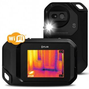 C3 wifi e1487757564497 300x300 - Wärmebildkamera FLIR C3 + Spannungsprüfer FLIR VP52