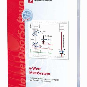 BlowerDoor a-Wert MessSystem