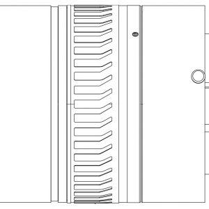 FLIR 25mm Objektiv, 3.0-5.0µm, f/4.0 (A8XXX, SC8XXX)