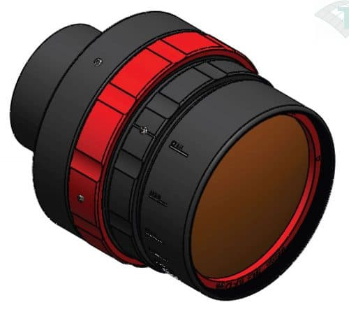 FLIR 100mm High Performance Objektiv, 0.9-1.7µm, f/1.5, c-mount (A62XX SWIR)