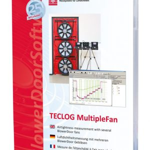 BlowerDoor Software TECLOG 3 MultipleFan (englisch)