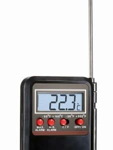 Alarmthermometer sw mit testo-logo -50 bis +150 °C