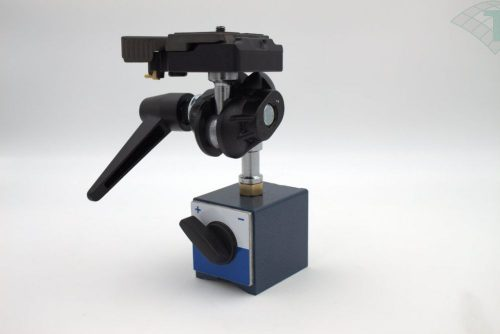 Manfrotto Doppelkugelgelenkadapter mit Magnetfuß, schaltbar