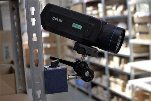 Stationäre FLIR Wärmebildkamera