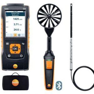 testo 440 Strömungs-KombiSet 1 mit Bluetooth®