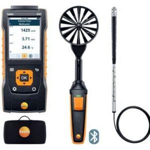 testo 440 Strömungs-KombiSet 2 mit Bluetooth®
