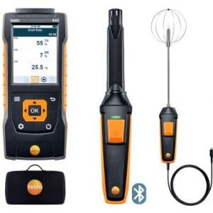 testo 440 Behaglichkeits-KombiSet mit Bluetooth®