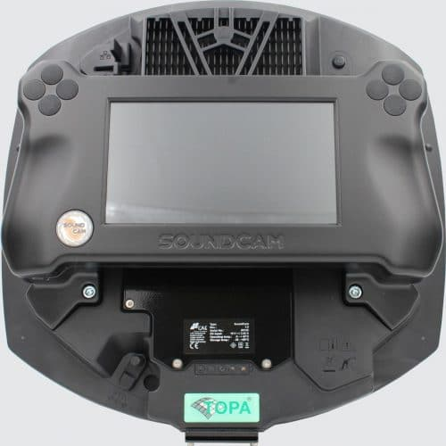 SoundCam - handgehaltene Akustik-Kamera