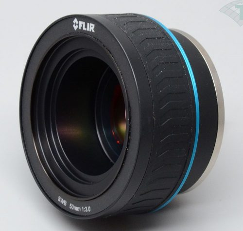 FLIR MWIR BB (1.75-5µm) 50mm F/3 Bayonet (L1206) - Manual focus (X6520sc, X6530sc)
