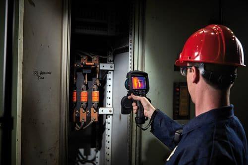 Wärmebildkamera FLIR Exx in der Instandhaltung