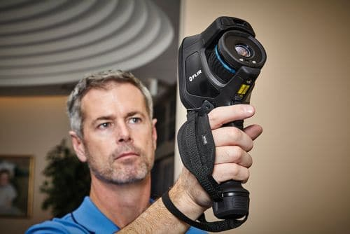 Wärmebildkamera FLIR Exx für Gebäudeinspektionen