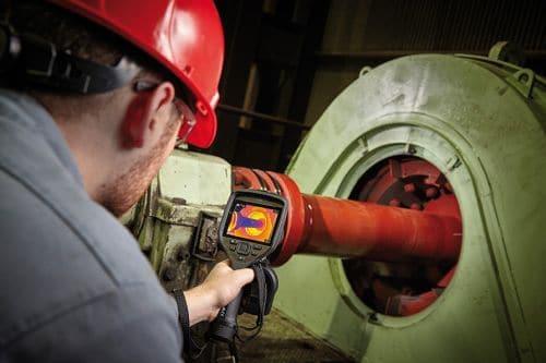 Wärmebildkamera FLIR Exx in der Industrie