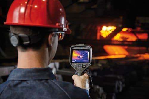 Wärmebildkamera FLIR Exx zur Überwachung