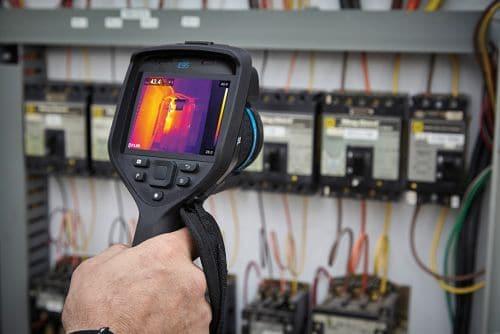 Wärmebildkamera FLIR Exx zur Instandhaltung
