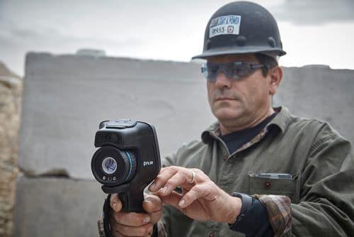 Wärmebildkamera FLIR Exx einfache Bedienung