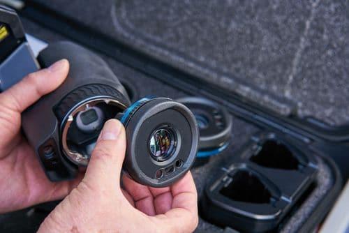 Tauschbare Objektive für Wärmebildkamera FLIR T8xx, T5xx, Exx
