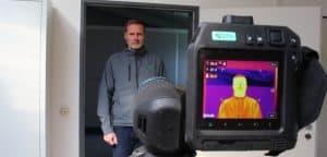 Erfassung erhöhter Körpertemperatur mit einer FLIR Wärmebildkamera