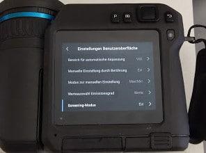 Wärmebildkameras für Screening erhöhter Körpertemperatur