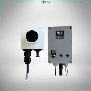 TOPA Referenzstrahler RS T37 mit Steuerungselektronik
