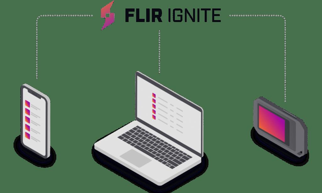 FLIR Ignite Konnektivität