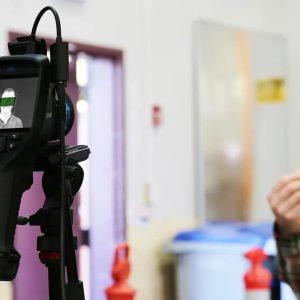 FLIR Wärmebildkameras mit Screening Modus