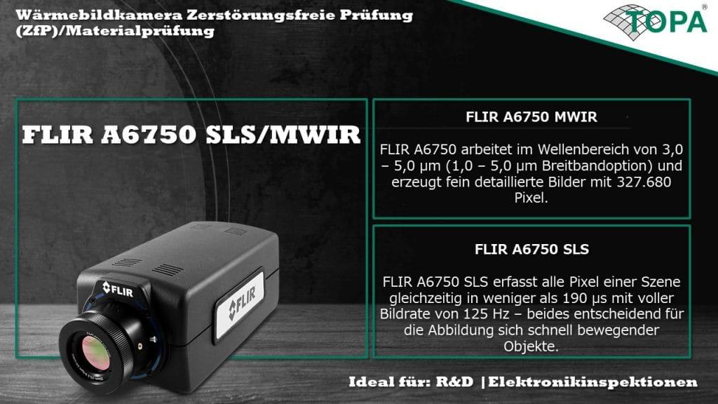 FLIR A6750 SLS MWIR Banner