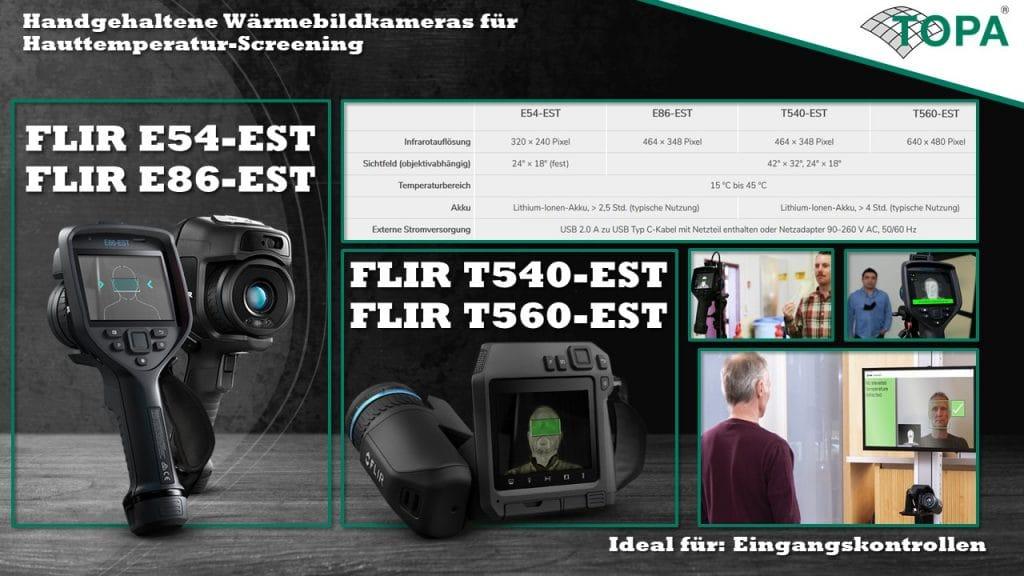 FLIR Handheld Screening Banner