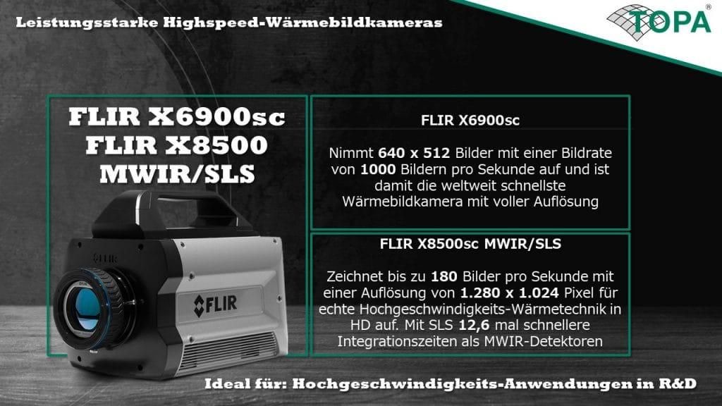 FLIR X6900sc X8500 MWIR SLS Banner