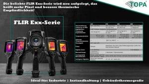 FLIR stellt neue Exx-Serie vor! Neue Modelle FLIR E54, E76, E86 & E96