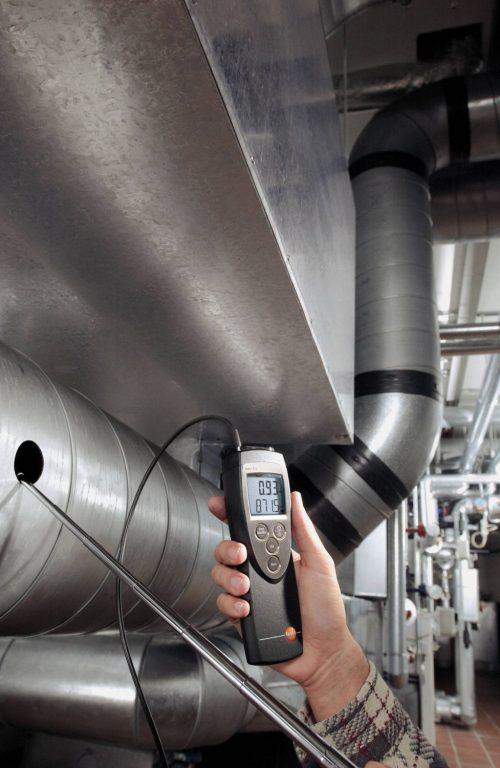 testo 425 - Thermisches Anemometer mit fest angeschlossener Strömungssonde