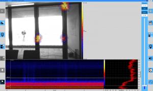 Ein kleiner Dynamikbereich zeigt die größten Undichtigkeiten punktgenau an.