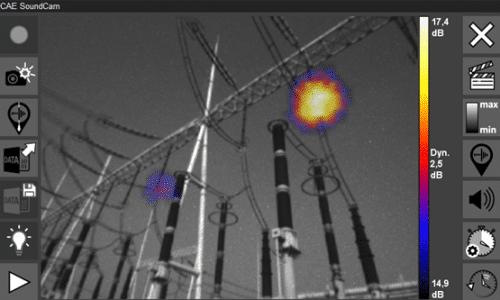 SoundCam Ultra Sensor - stationäre Akustik-Kamera