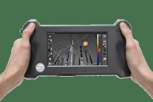 SoundCam Ultra - kompakte handgehaltene Akustik-Kamera