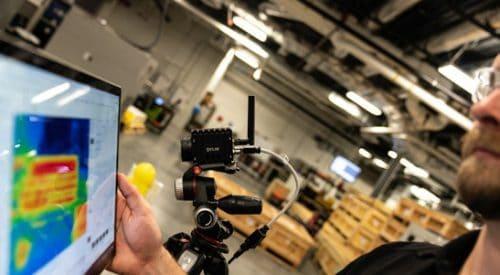 FLIR Wärmebildkamera A70